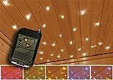 Karibu Sternenhimmel Farblichtanwendung LED